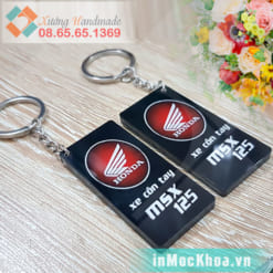 In móc chìa khóa Hà Nội