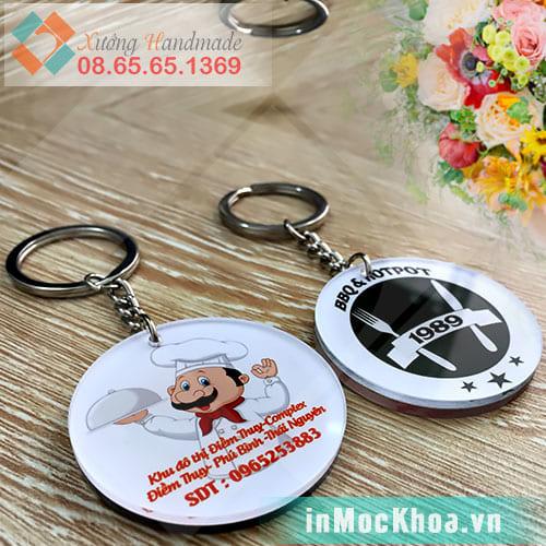 Làm móc chìa khóa theo yêu cầu tại Hà Nội